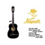 G98-BK Kapok Classic Guitar