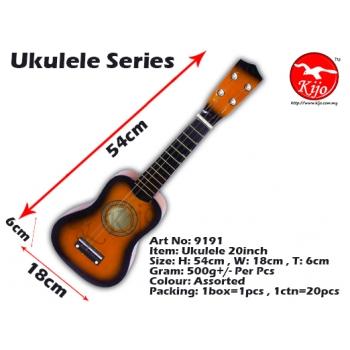 9191-Ukulele-20inch-Orange