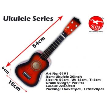 9191-Ukulele-20inch-Red