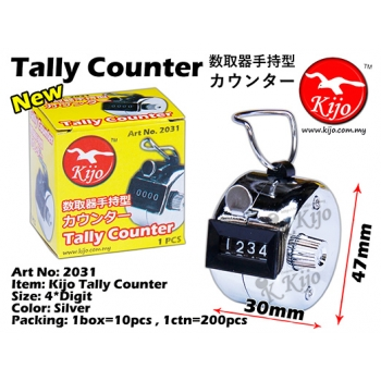 2031 Kijo Tally Counter