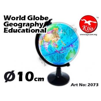 10cm Globe Geography Educational 2073