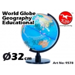 32cm Globe Geography Educational 9578