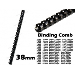 7589 38mm Plastic Binding Comb
