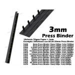 1658 3mm Press Binder Comb