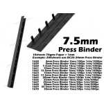 1660 7.5mm Press Binder Comb