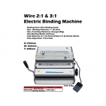 BM0608B Kijo 2in1 (Plastic & Wire) Electric Binding Machine