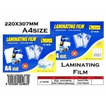 KIJO 8438 A4 Size 220x307mm Laminating Film (100mic)