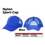 0044 Kijo Nylon Sport Cap - Blue
