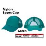 0044 Kijo Nylon Sport Cap - Green