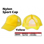 0044 Kijo Nylon Sport Cap - Yellow