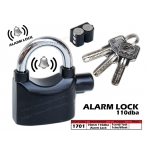 1701 70mm 110dba Alarm Lock