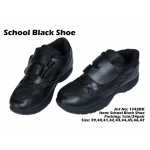 1742BK School Black Shoe
