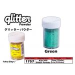 1757 KIJO Green Glitter Powder 20g+/-