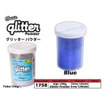 1758 KIJO Blue Glitter Powder 100g+/-