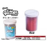1758 KIJO Red Glitter Powder 100g+/-