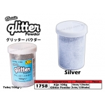 1758 KIJO Silver Glitter Powder 100g+/-