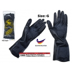 1885 Elephant Black Industrial Rubber Glove