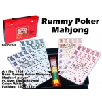 1961 4 Player Classic Rummy Poker Mahjong