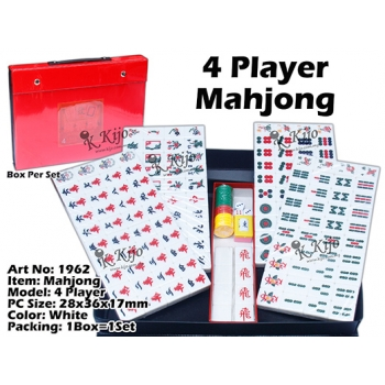 1962 4 Player Classic Mahjong