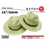 3943 Kijo Plastic Straw Hat
