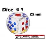 4577 KIJO 25mm Transparent Dice