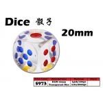 5973 KIJO 20mm Transparent Dice