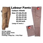 WP-6080 KIJO Worker Uniform Pants Brown Color
