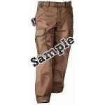 WP-6080 KIJO Worker Uniform Pants Brown Color