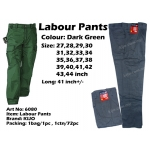 WP-6080 KIJO Worker Uniform Pants Green Color