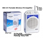 6338 WG-121 Portable Wireless PA Amplifier