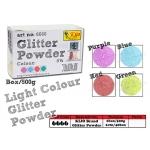 6666 KIJO Brand Light Colour Glitter Powder Purple