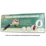 7459 Heating and Vibrating Electric Massager