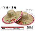 7952 Kijo 18inch Straw Hat