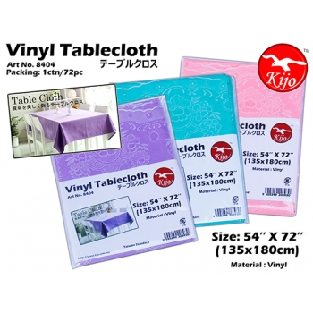 8404 Kijo Vinyl Tablecloth