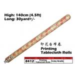 8412 Printing Tablecloth Roll 267B-2