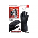 8885 Elephant King Industrial Black Rubber Glove