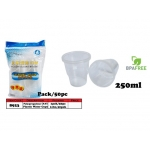 8923 Plastic Water Cup (P.P)