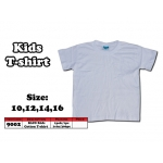9002 Kids Cotton T-Shirt - White Color