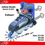 Inline Skate / Kasut Roller - Blue