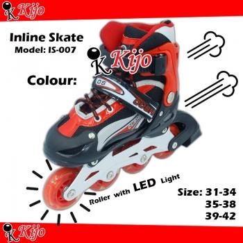 Inline Skate / Kasut Roller - Red