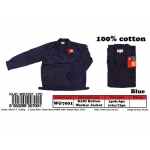 WG-7001 KIJO Worker Button Jacket Color - Blue