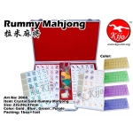 2008 Crystal Gold Rummy Mahjong