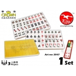 Crown HK Crystal Gold 3-Players Mahjong 2047
