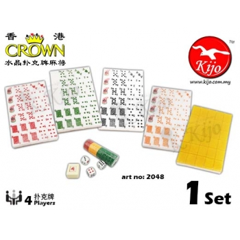Crown HK Crystal Gold Rummy Mahjong 2048