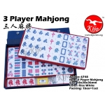 6748 3 Player White Mahjong
