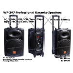 WP-297 Professional Karaoke Speakers