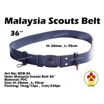 MSB-36 Malaysia Scouts Belt 36inch