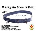 MSB-42 Malaysia Scouts Belt 42inch