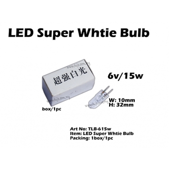 TLB-615w LED Super Whtie Bulb