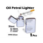 1995-Silver Oil Petrol Lighter